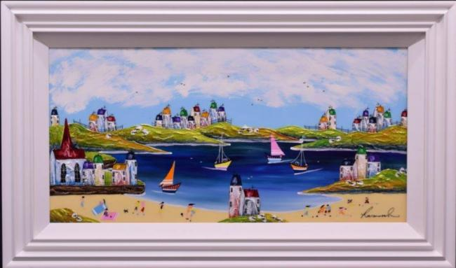 Sailing Day by Rozanne Bell