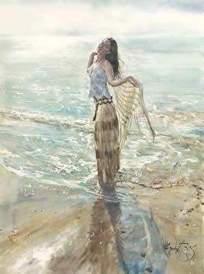 Sea Of Light by Gordon King