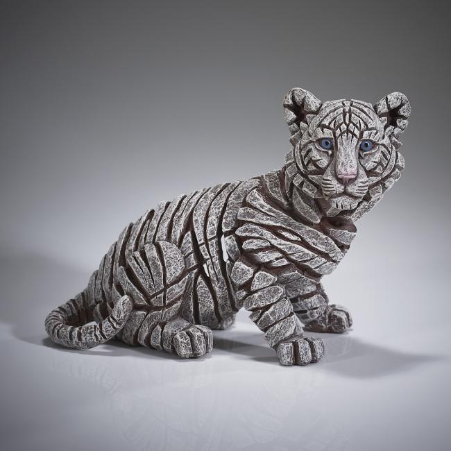 Siberian Tiger Cub by Edge Sculptures by Matt Buckley