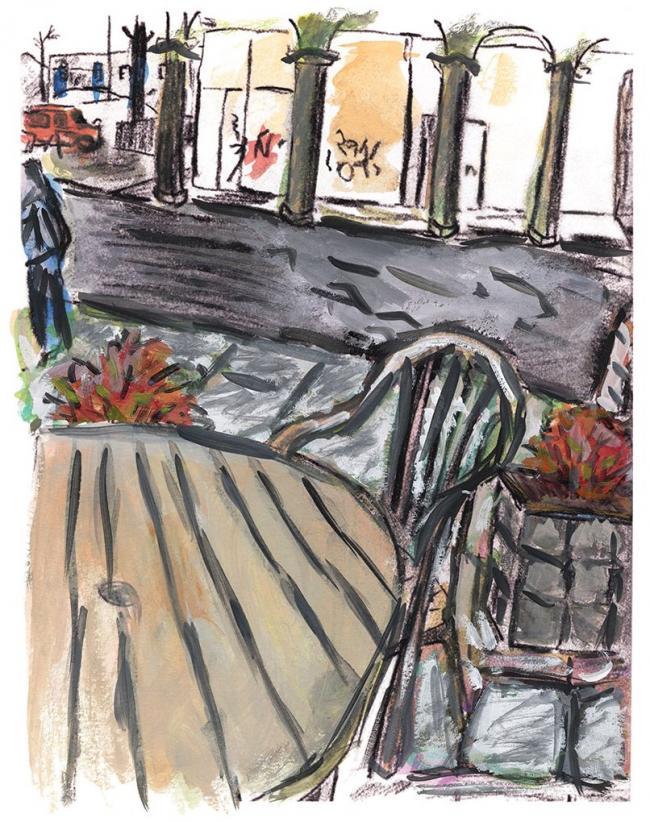 Sidewalk Cafe 2016 by Bob Dylan