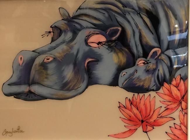 Sleeping In The Lillies by Amy Louise