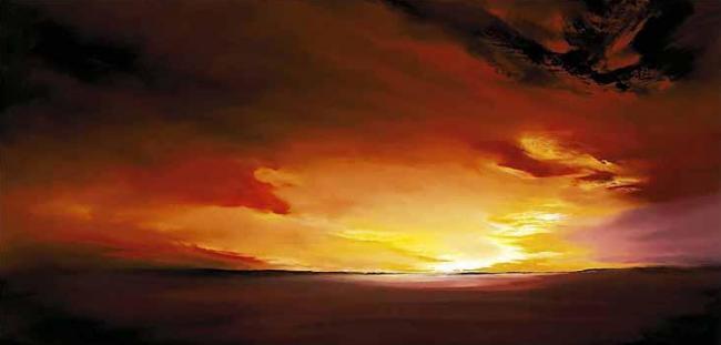 Smouldering Skies by Richard Rowan