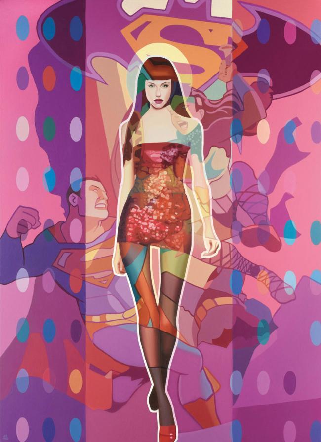 Spot Me Now - Boxed Canvas by Stuart McAlpine Miller
