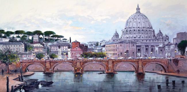 St Peters, Rome by Henderson Cisz