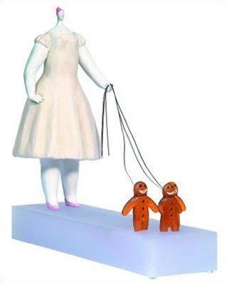 Stealing The Show - Sculpture by Sarah Jane Szikora