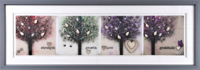 Strength Growth Love And Gratitude by Kealey Farmer