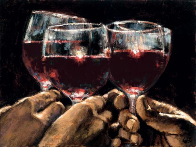 Study For A Better Life IV by Fabian Perez