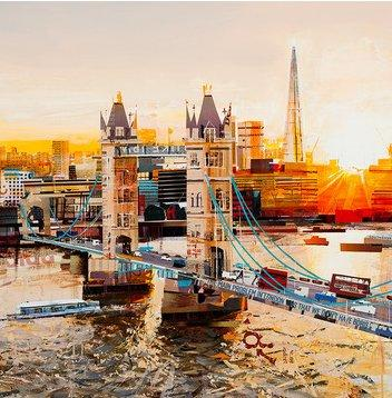 Sunbeams, Tower Bridge by Tom Butler