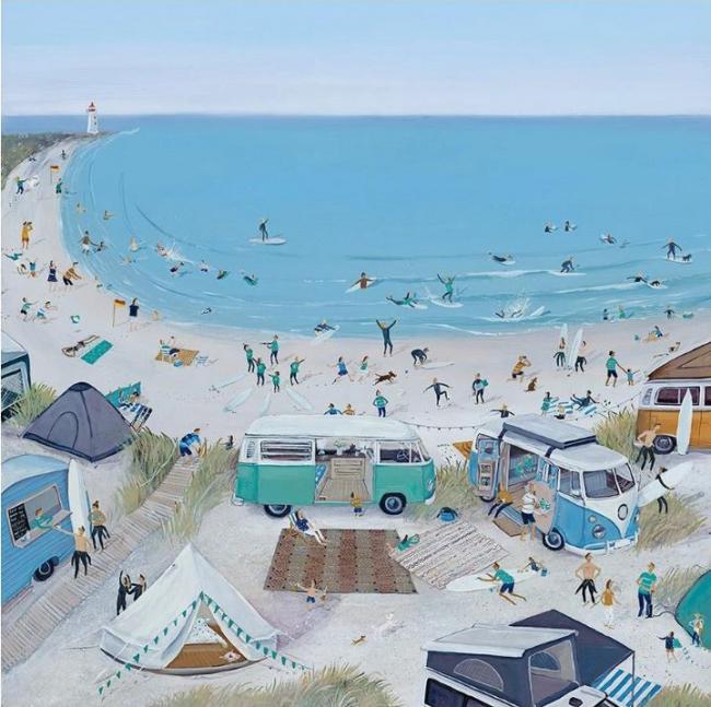 Surfs Up by Jenni Murphy