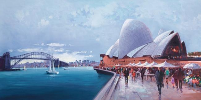 Sydney Harbour by Henderson Cisz
