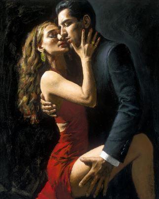 Tango en San Telmo III by Fabian Perez