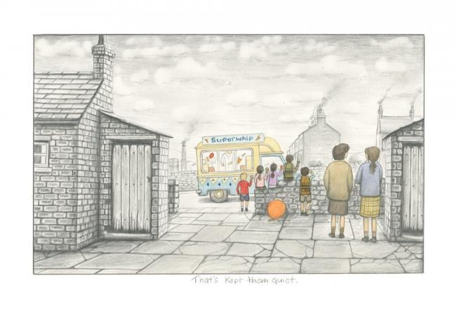 That's kept them quiet- Sketch by Leigh Lambert