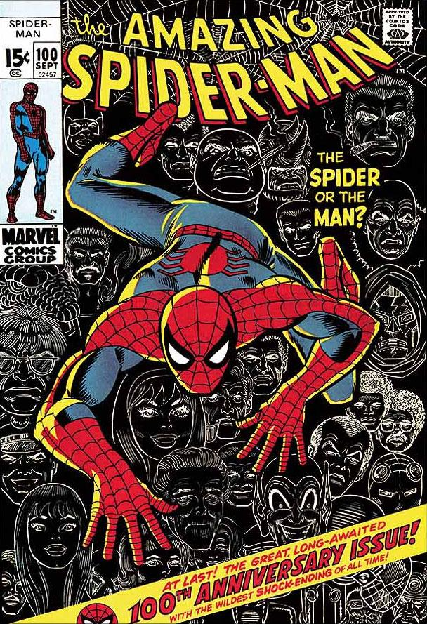 The Amazing Spider-Man #100 - The Spider Or The Man? by Stan Lee  Marvel Comics