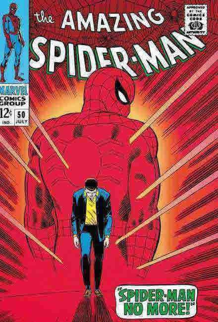 The Amazing Spider Man #50 by Stan Lee  Marvel Comics