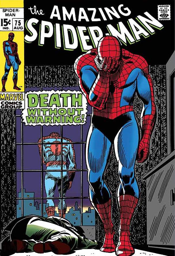The Amazing Spider-Man #75 - Death Without Warning! by Stan Lee  Marvel Comics