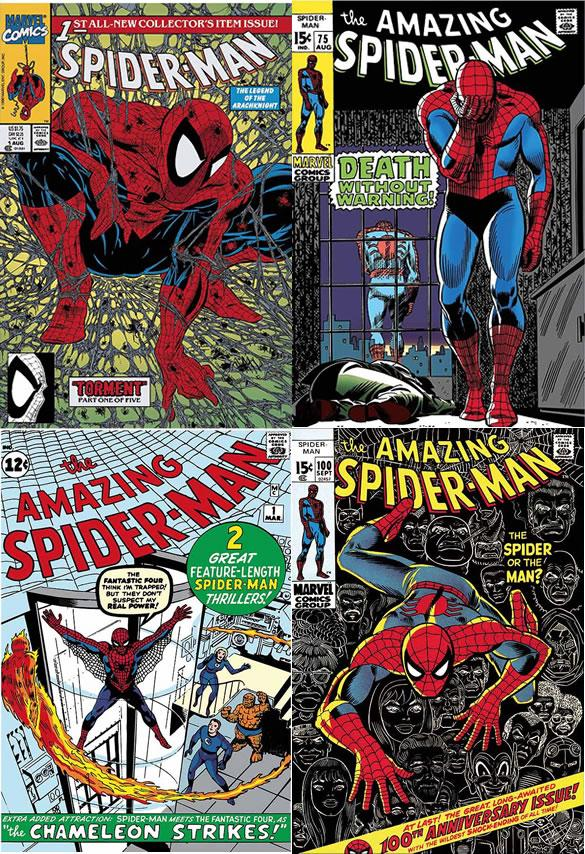 The Amazing Spider-Man Portfolio - Canvas by Stan Lee  Marvel Comics