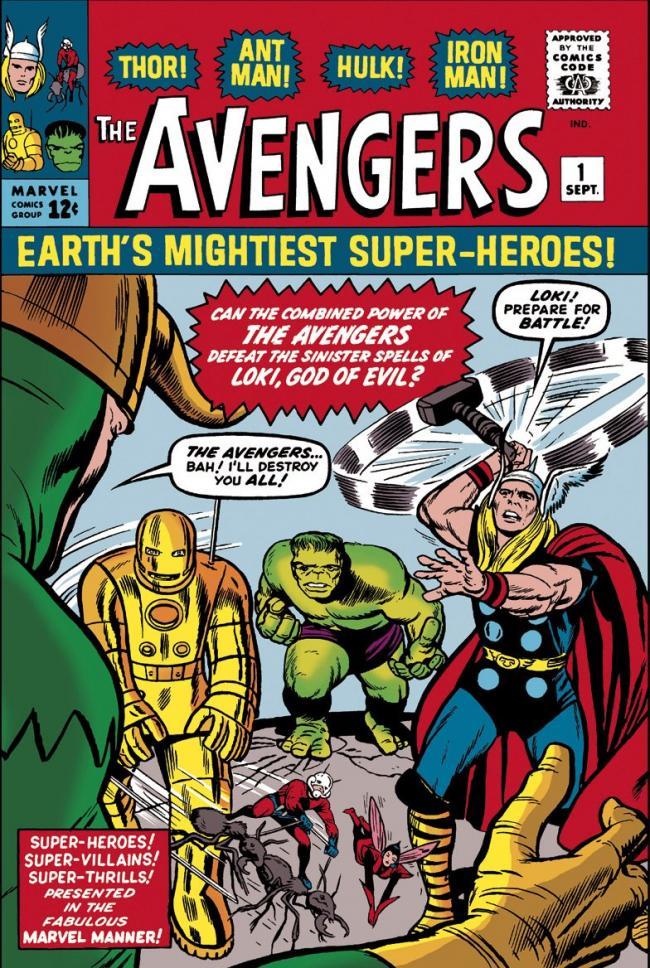 The Avengers #1 - Earths Mightiest Super Heroes by Stan Lee  Marvel Comics
