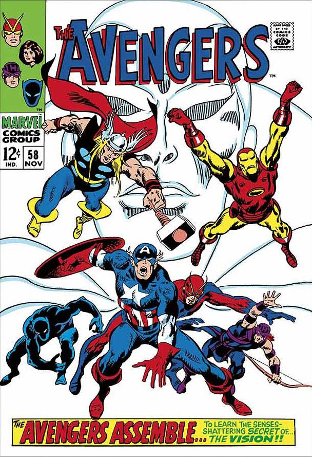 The Avengers #58 -  The Avengers Assemble by Stan Lee  Marvel Comics