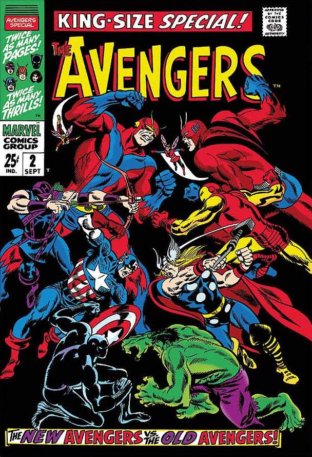 The Avengers #67 - King-Size Special #2 by Stan Lee  Marvel Comics