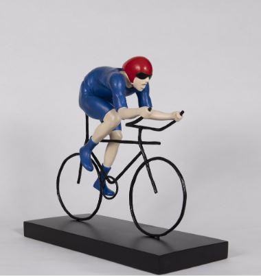 The Fastest - Sculpture by Mackenzie Thorpe