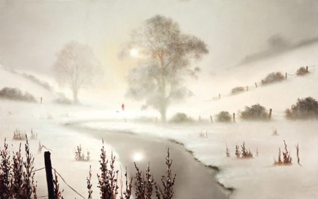The First Snowfall by John Waterhouse