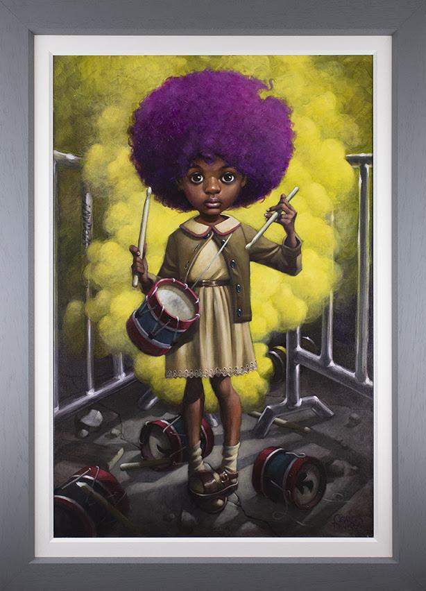 The Funky Drummer-  Canvas Deluxeby Craig Davison
