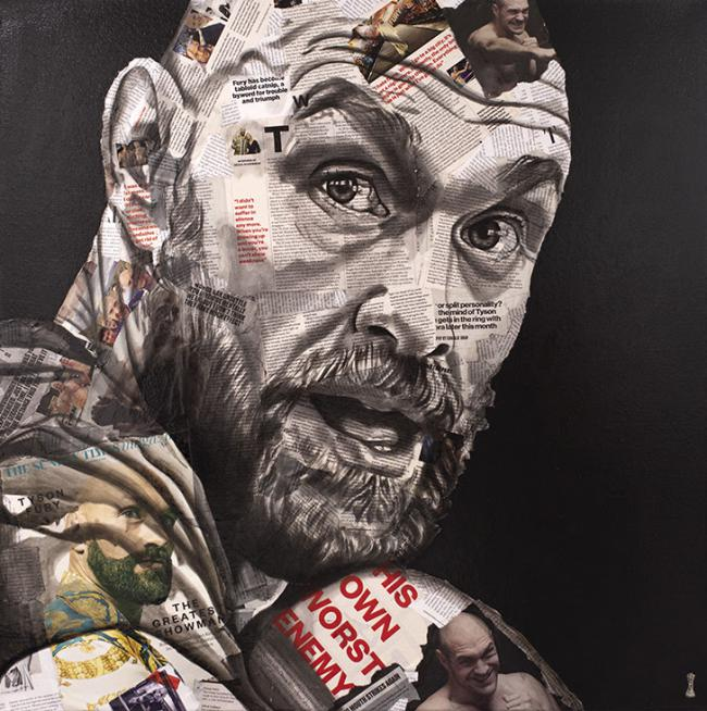 The Greatest Showman (Tyson Fury) by Chess