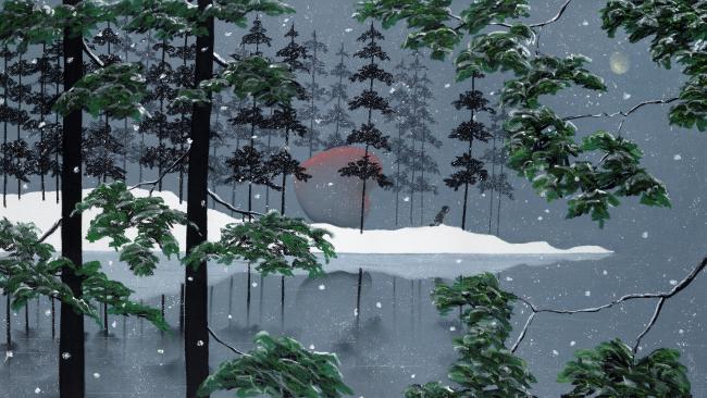 The Heart of Winter by Mackenzie Thorpe