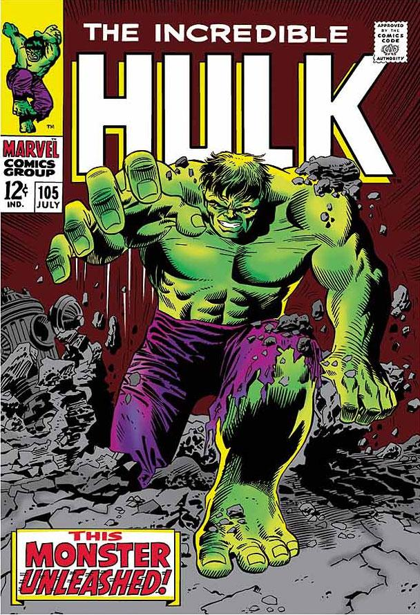 The Incredible Hulk #105 - The Monster Unleashed! by Stan Lee  Marvel Comics
