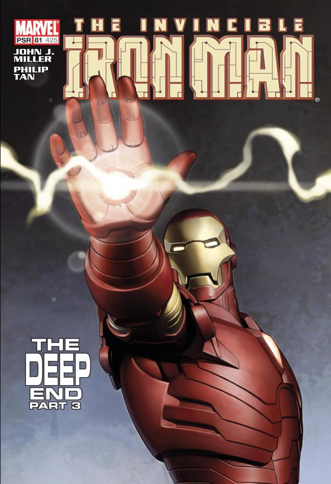 The Invincible Iron Man #81 - The Deep End Part 3 by Stan Lee  Marvel Comics