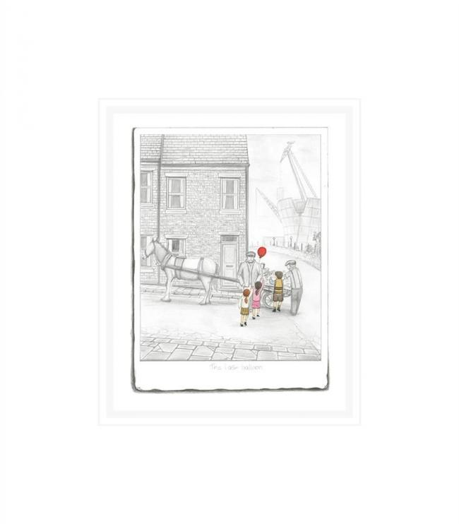 The Last Balloon - Sketch by Leigh Lambert