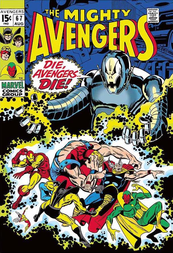 The Mighty Avengers #67 - Die, Avengers Die! by Stan Lee  Marvel Comics