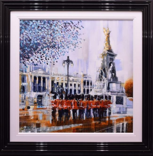 The Queens Guard by Simon Wright