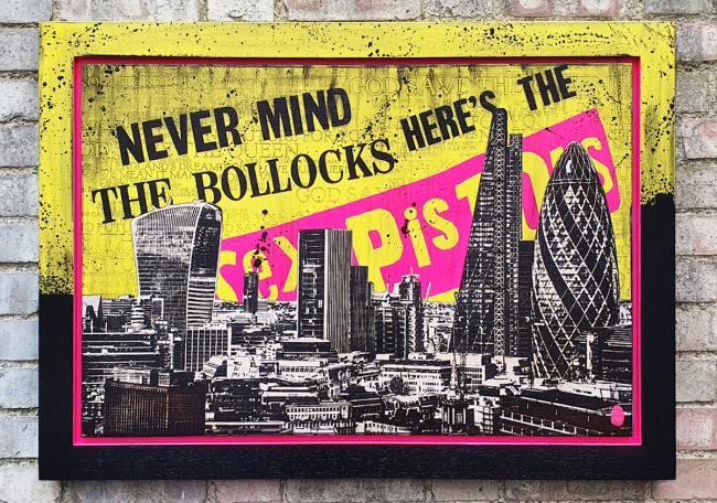 The Sex Pistols- Skyline by Rob Bishop