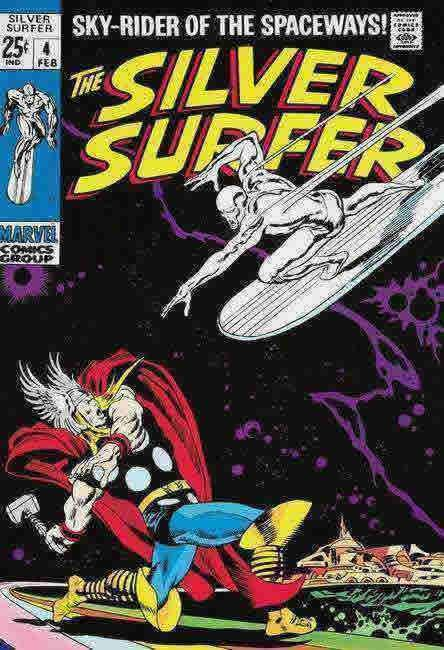 The Silver Surfer #4 by Stan Lee  Marvel Comics