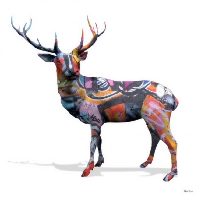 The Stag Do - Small by Monica Vincent