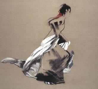 The White Veil by Robert Heindel