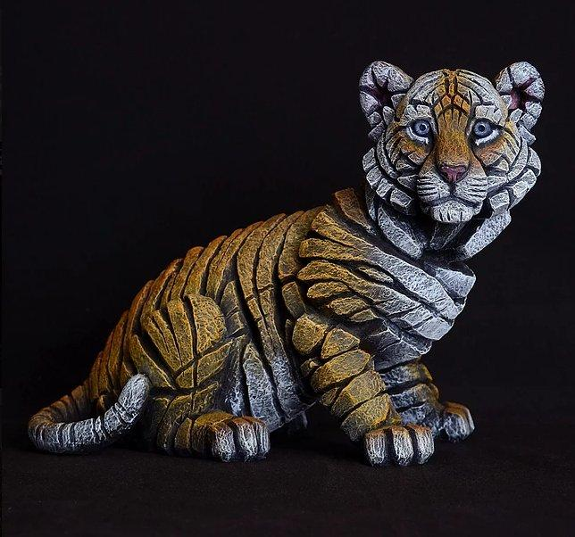 Tiger Cub by Edge Sculptures by Matt Buckley