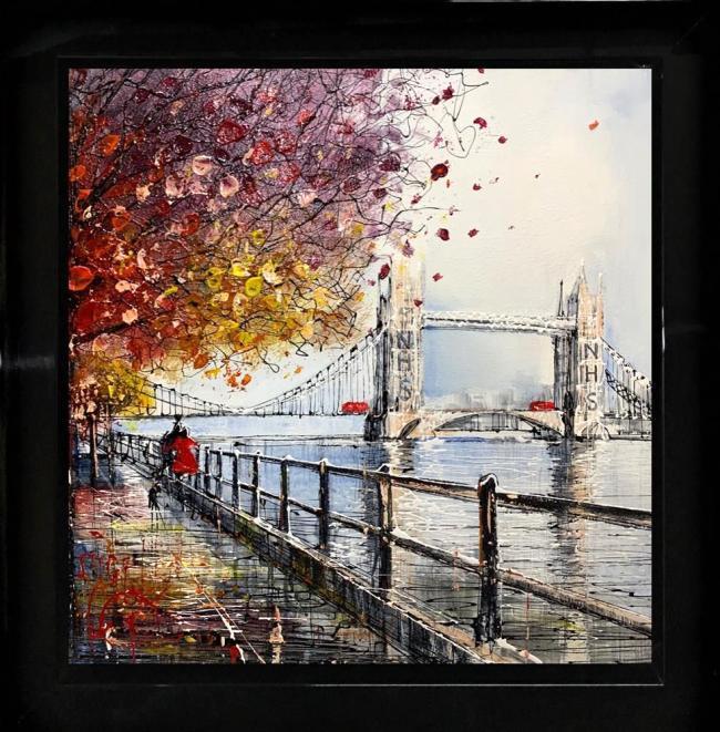 Tower Walk by Nigel Cooke
