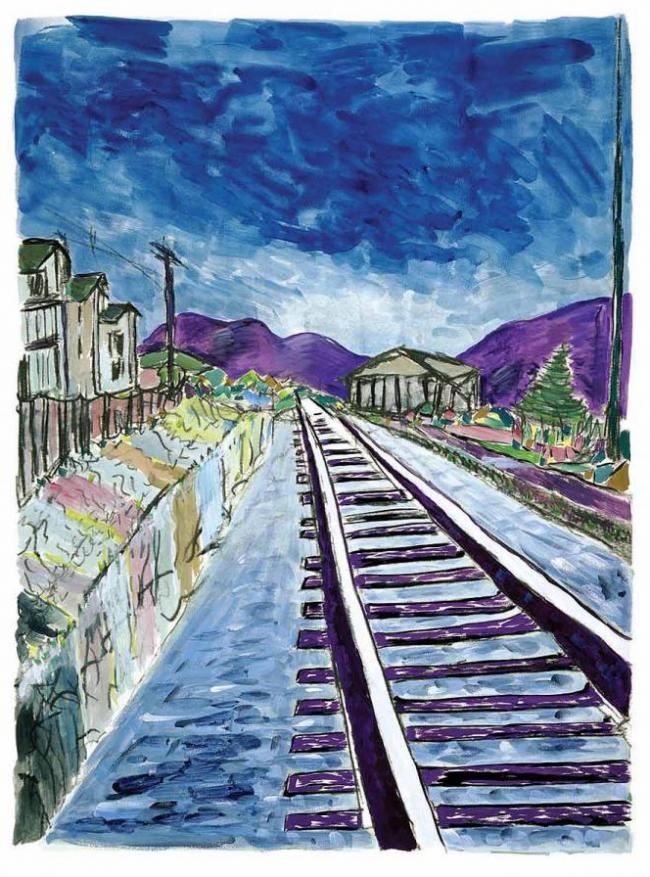 Train Tracks 2013 by Bob Dylan
