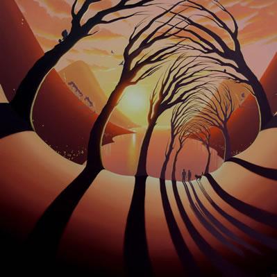 Tunnel Of Love by Derrick Fielding