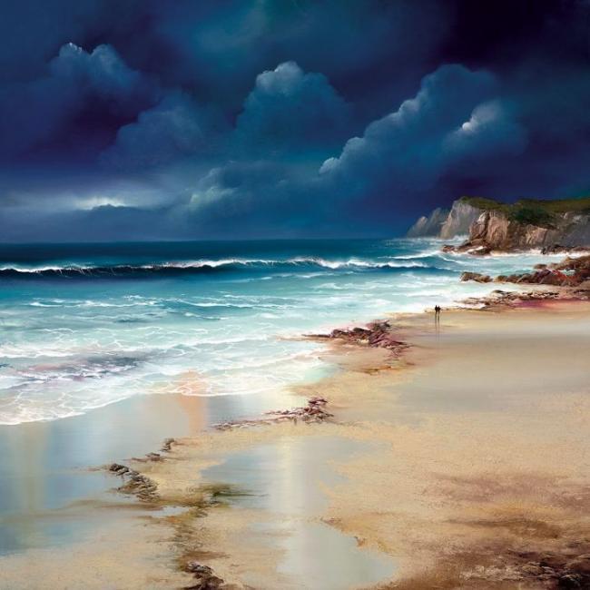Twilight Walk by Philip Gray