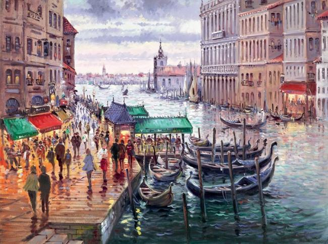 Vacation in Venice by Henderson Cisz