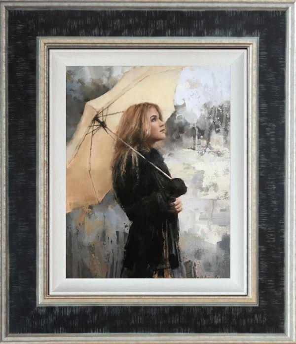 Vanilla Snowdrop- Canvasby Tony Hinchcliffe