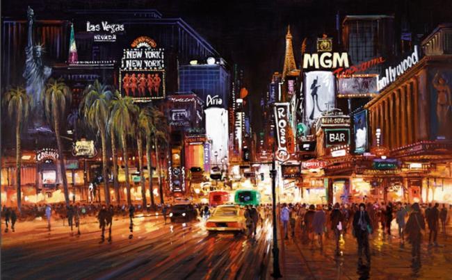 Vegas Lights by Henderson Cisz