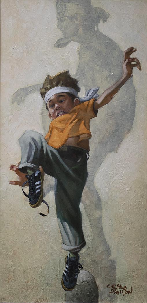 Wax on, Wax Off - Original by Craig Davison