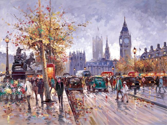 Weekend In Westminster by Henderson Cisz