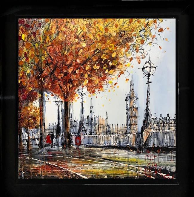 Westminster Walk by Nigel Cooke