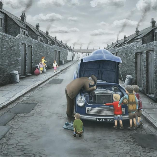What's Wrong Mister? - Canvasby Leigh Lambert