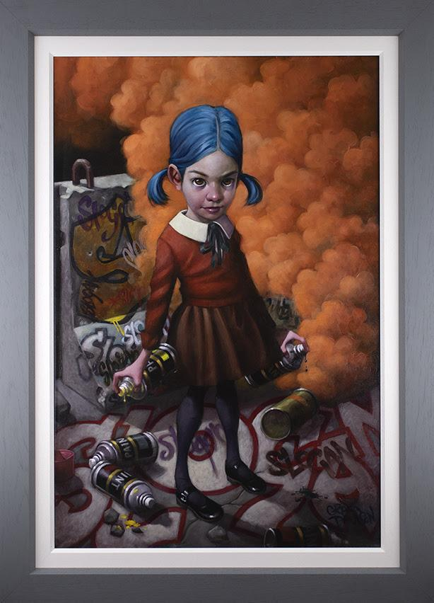 Where do you draw the line?- Deluxe Canvasby Craig Davison